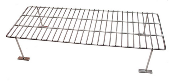 Upper rack for Daniel Boone grill