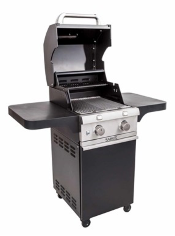 Saber 330 Cast Black Cart Grill (LP)