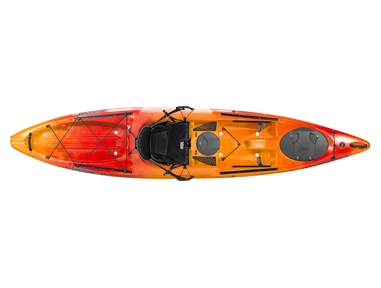 Wilderness Systems, Tarpon 120 Kayak, Mango
