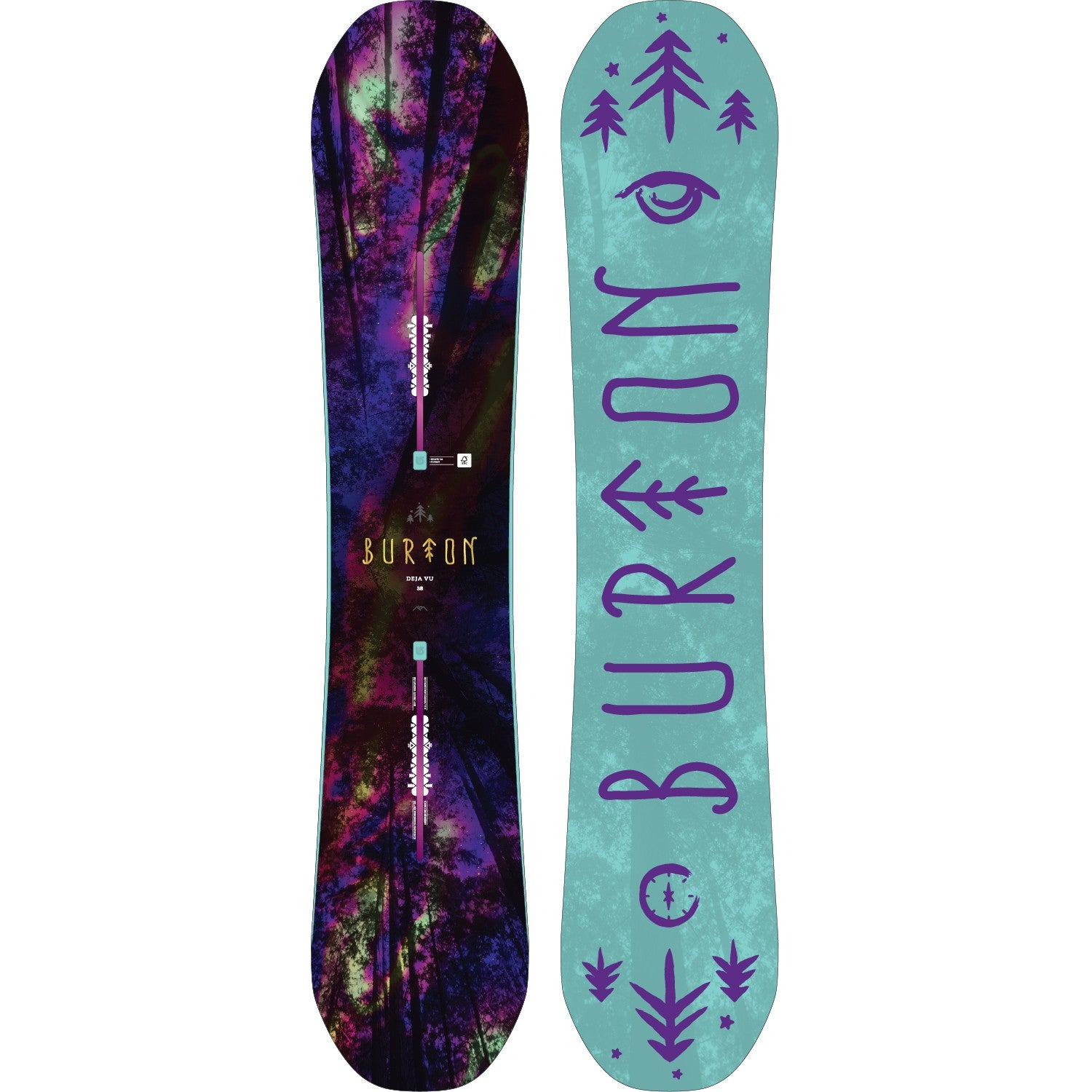 Burton Deja Vu Flying V board