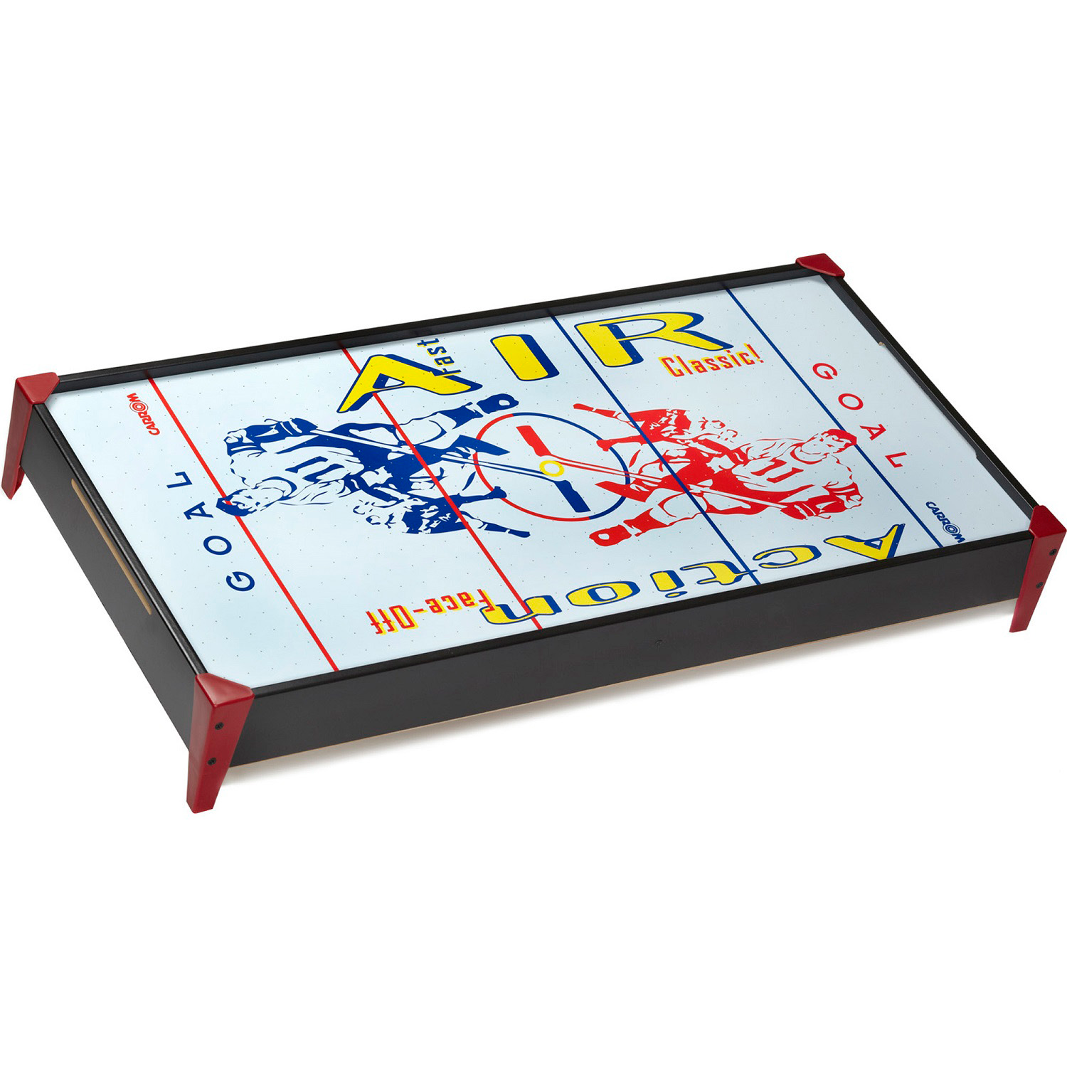Carrom Face-Off Table Top Hockey Blue