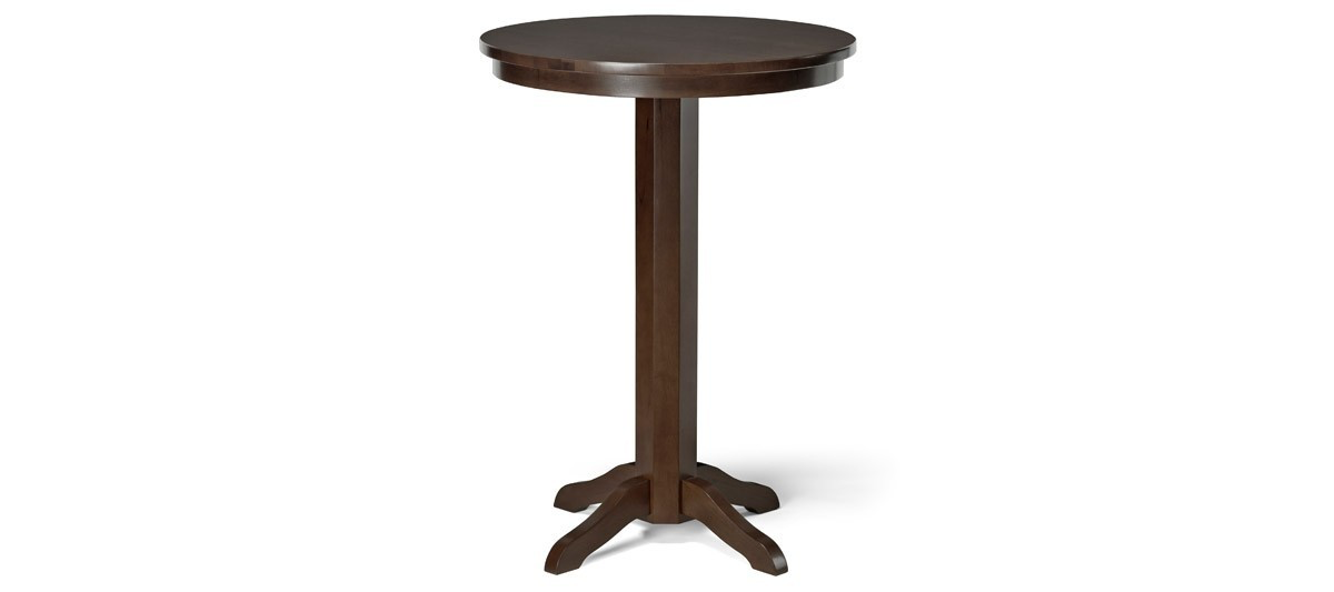 Brunswick Traditional Pub Table - Espresso