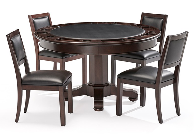 Brunswick Heritage Game Table - Espresso