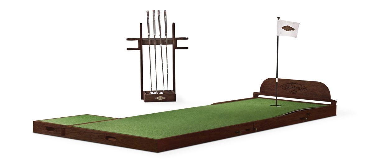 Brunswick The Maxwell Putting Green - Espresso