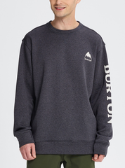 2019 Burton Oak Crew Sweatshirt - Black Heather