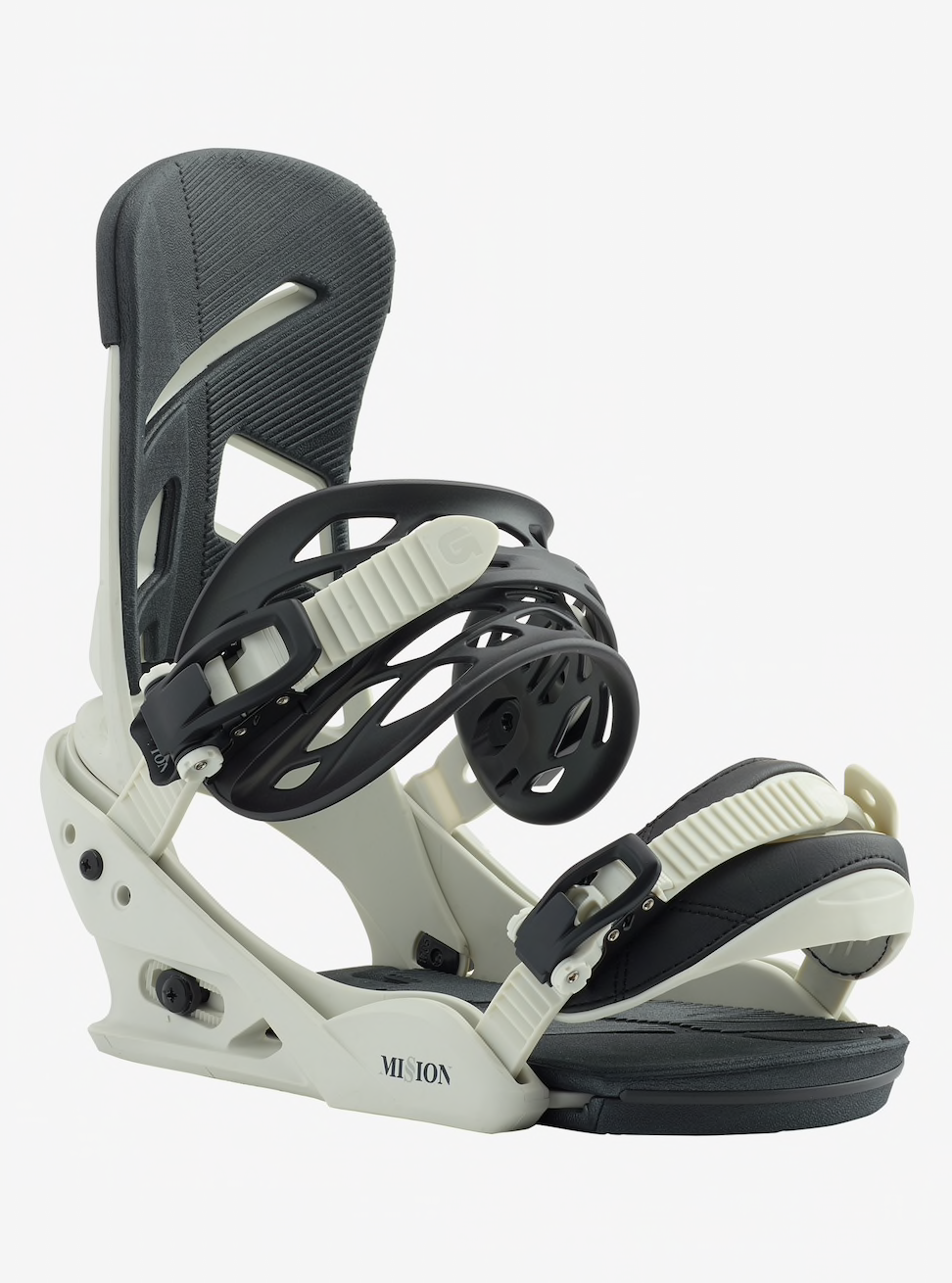 2019 Burton Mission Snowboard Binding - Bone