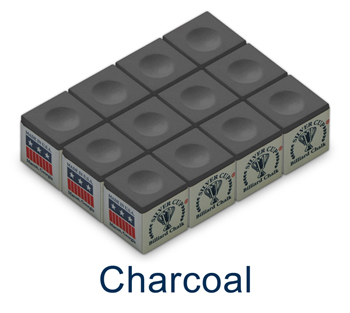 Silver Cup Chalk - Charcoal