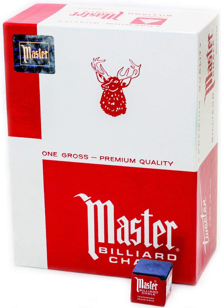 Master Chalk 144 Piece Box - Blue