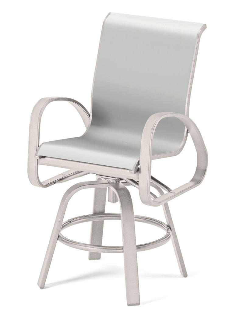 Primera Sling Balcony Swivel Chair