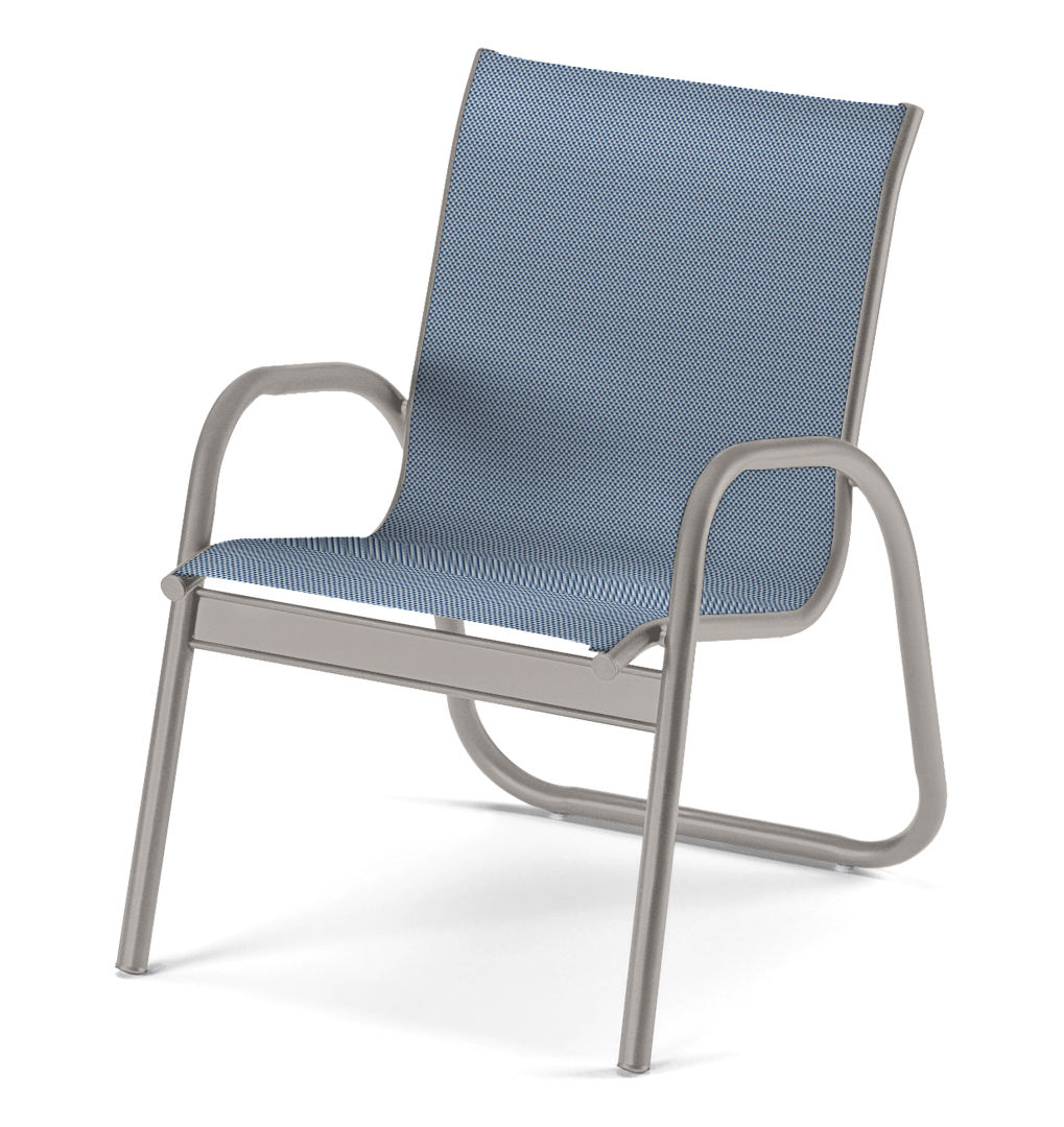 Gardenella Sling, Stacking Arm Chair
