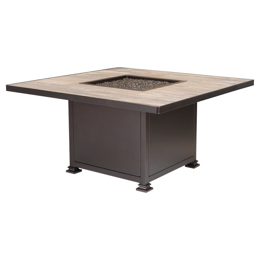 "48"" Square Chat Height Santorini Fire Pit"