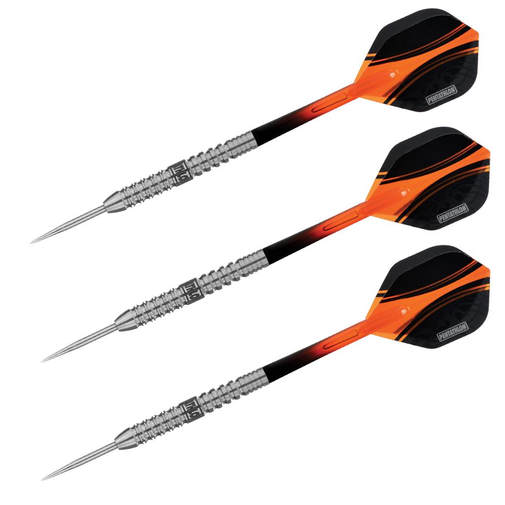 Pentathlon 24gr.  Steel Tip Dart Orange