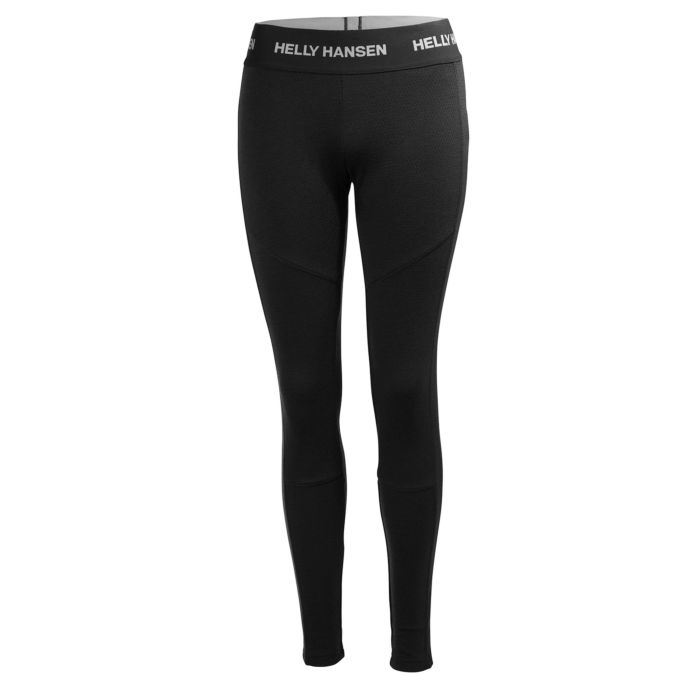 2019 Helly Hansen Womens Lifa Merino Pant - Black