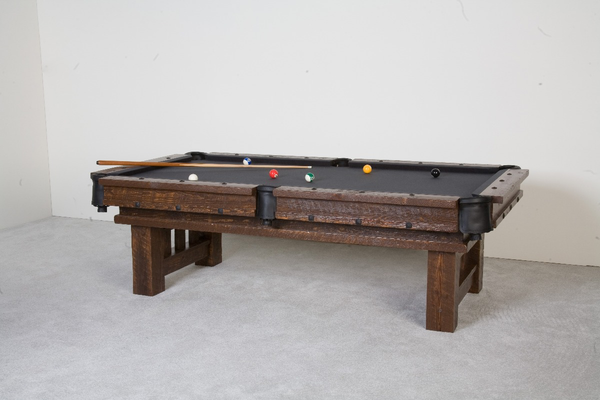 Barnwood Cheyenne Pool Table