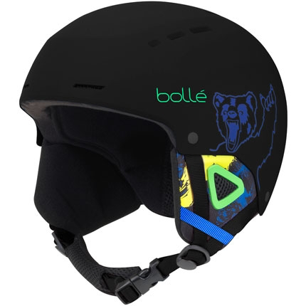 Bolle Quiz Kids Helmet - Black