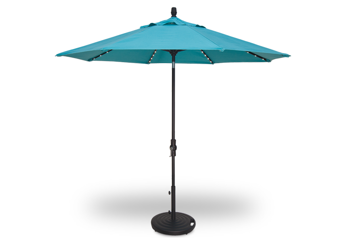 Starlight Collar Tilt Umbrella
