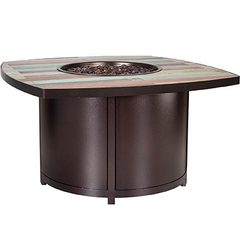 "42"" Square Chat Height Marina Fire Pit"