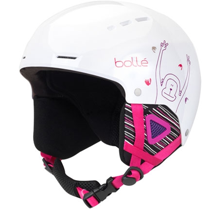 Bolle Quiz Kids Helmet - White