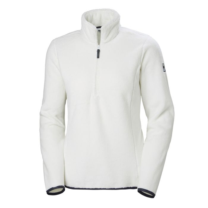 2019 Helly Hansen W Feather Pile 3/4 Zip - White