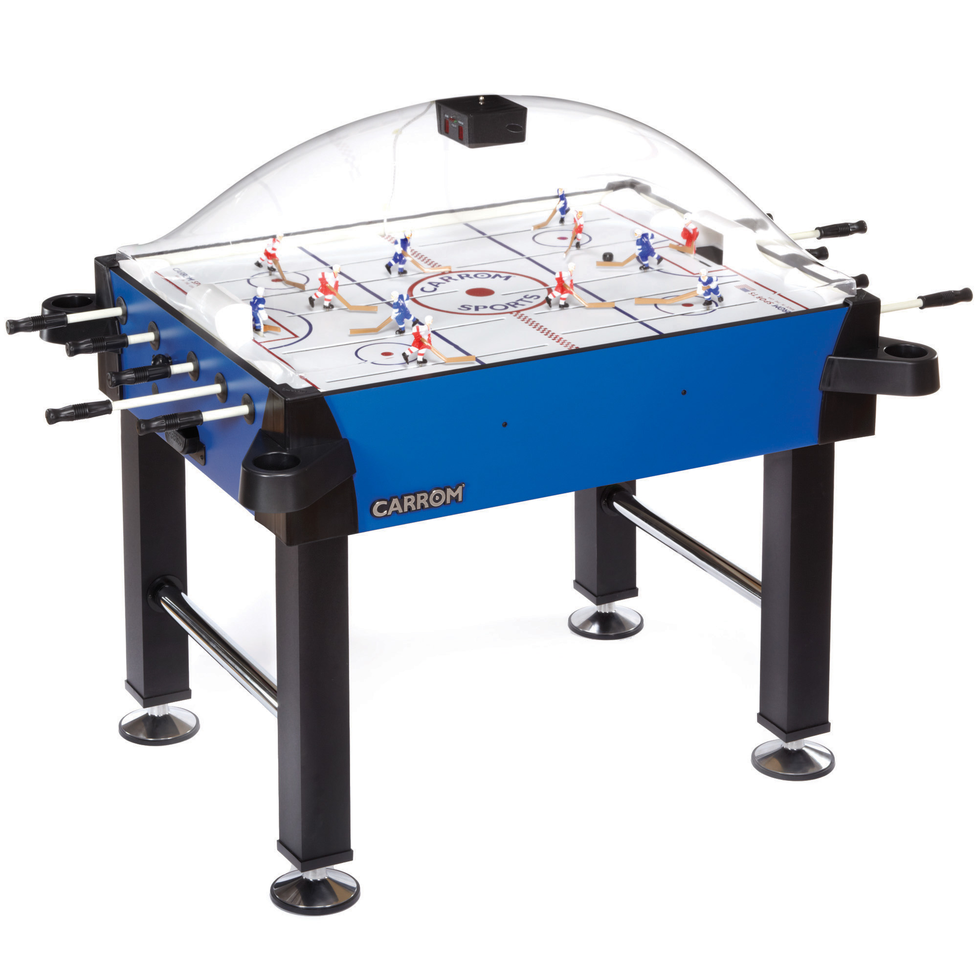Carrom Signature Stick Hockey - Blue