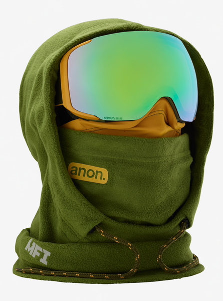 Anon MFI Fleece Helmet Hood - Green