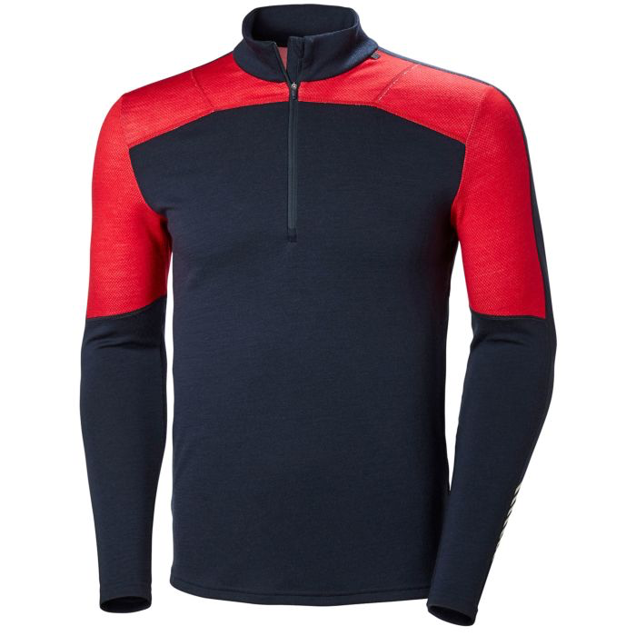 2019 Helly Hansen Lifa Merino 1/2 Zip - Navy