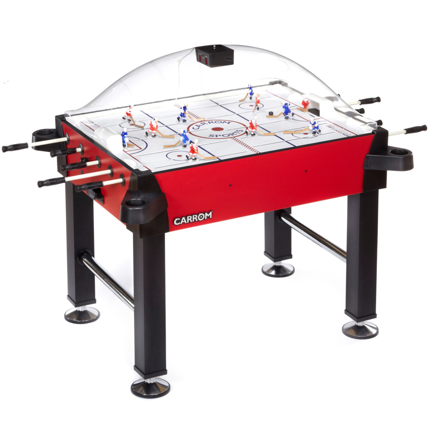 Carrom Signature Stick Hockey - Red