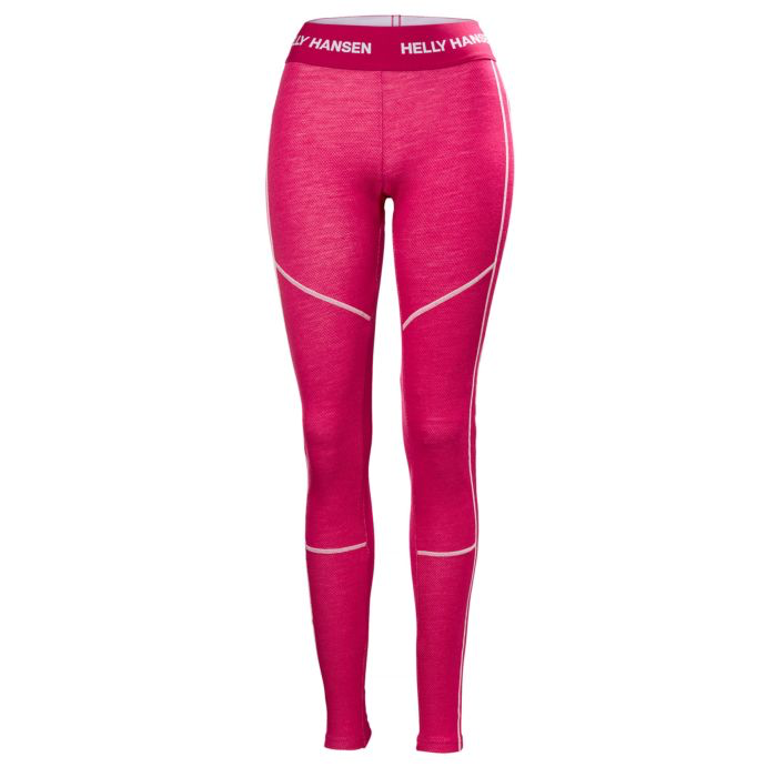 2019 Helly Hansen Womens Lifa Merino Pant - Red