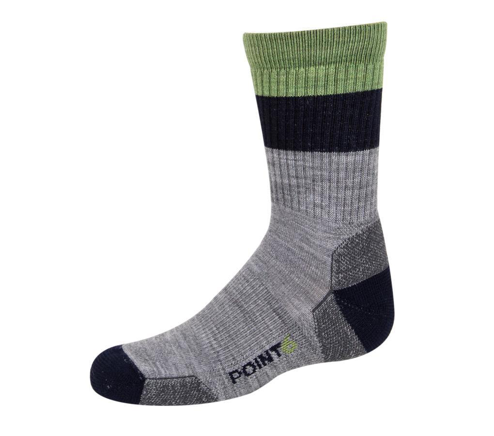 Kids Block Stripe Sock