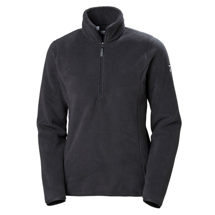 2019 Helly Hansen W Feather Pile 3/4 Zip - Black
