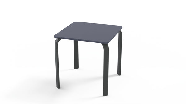 Marine Grade Polymer Top Table, 18″ Square End Table