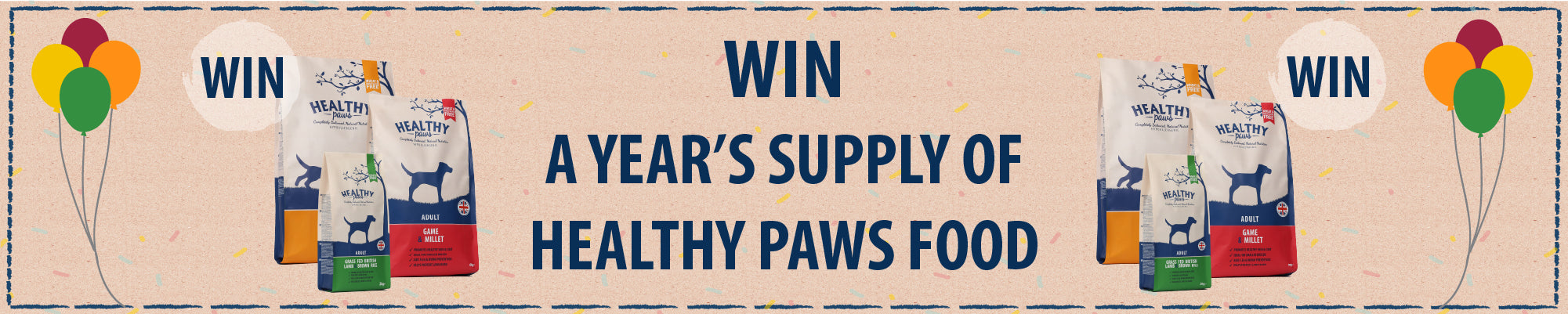 Healthy Paws Competition