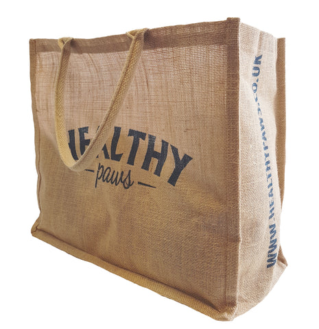 Healthy Paws Jute Bag