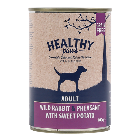 Wild Rabbit & Pheasant (Wet) can 400g Pack of 6