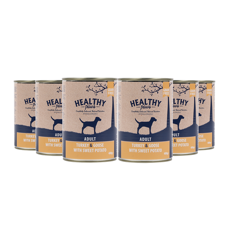 Turkey & Goose (Wet) can 400g Pack of 6