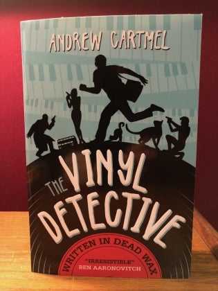 Andrew Cartmel - The Vinyl Detective: Written In Dead Wax (Vinyl Detective 1)