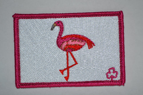 Flamingo Patch