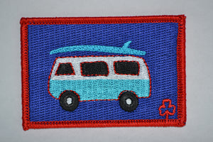 Surfer Van Patch