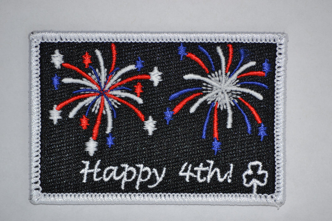Fireworks Patch (glow in the dark)