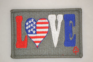 America Love Patch