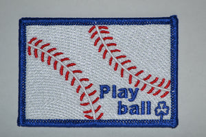 Play Ball Patch