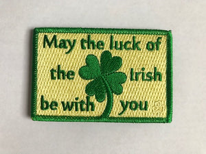 Irish Shamrock Bub Patch