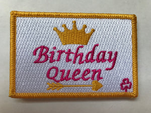 Birthday Queen Bub Patch