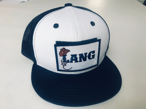 Lang Starter Kit- 1 hat, LANG patch, plus 2 patches of choice