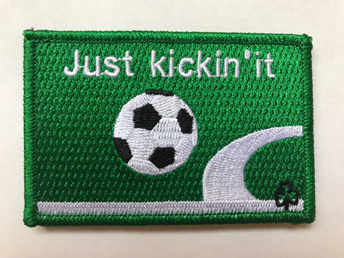 Soccer Bub Patch