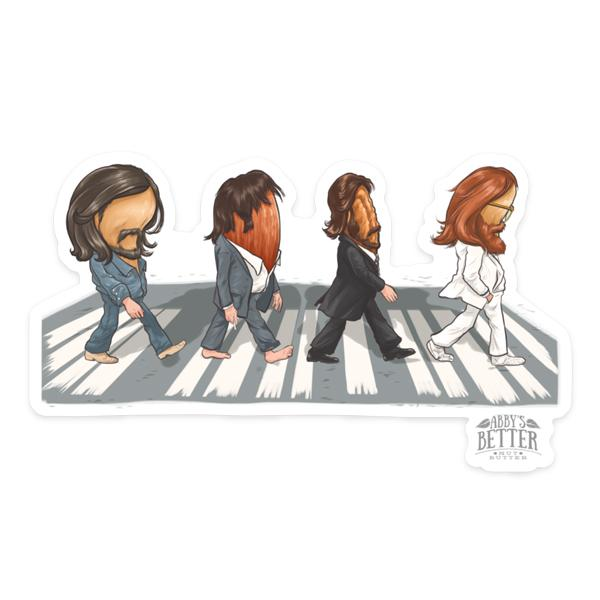 Abby Road - Sticker