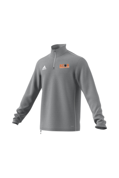 SCOR Quarter Zip - Grey