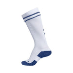 Ginga Game Sock - White/True Blue