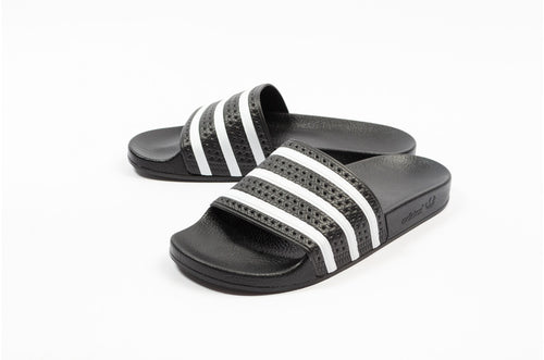 Men's Adilette Slides-Black/White