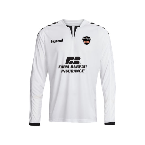 SCOR LS Game Jersey - White